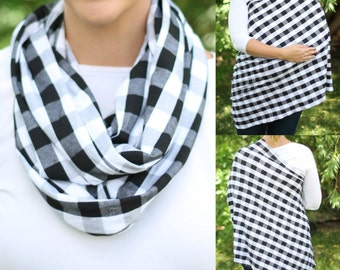 Ready To Ship Hold Me Close Nursing Scarf By