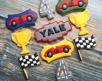 Racecar, NASCAR Decorated Cookie Assortment
