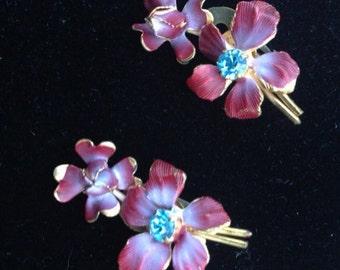 Sale - Signed Austria Vintage Earrings