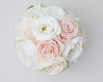 wedding bouquet silk wedding bouquet bridal bouquet rose bouquet silk flowers