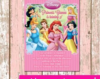 Disney Princess Digital Invitation