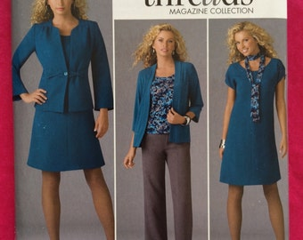 UNCUT Simplicity 2474 Dress, Suit, Pants, Jacket, Blazer Pattern Size 10-12-14-16-18-20-22-24-26-28