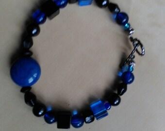 Waves of Blue Bracelet