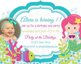Personalized Under the Theme Party Invitation - Printable File