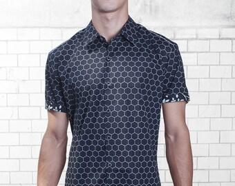 Hexagon shirt - short sleeve - BAÏSAP