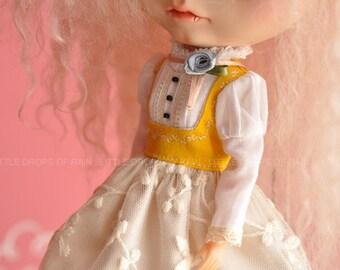 Little Princess Dress - mustard