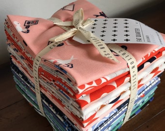 Flash Sale - Cotton and Steel Rotary Club by Kim Knight Fat Quarter Bundle