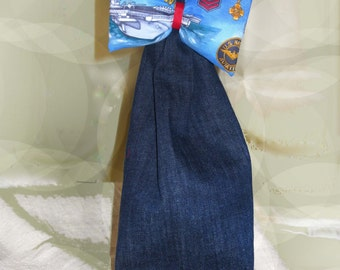 Go Navy Jeans Gift Bag Recycled & Reusable