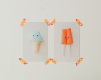 "Popsicle 5.5"" x 8.5"" postcard photo wall art print"