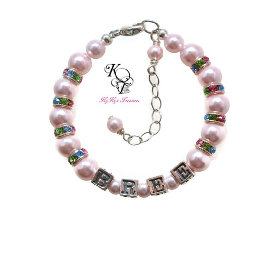Baby Gifts Jewellers : Items similar to baby bracelet little girl