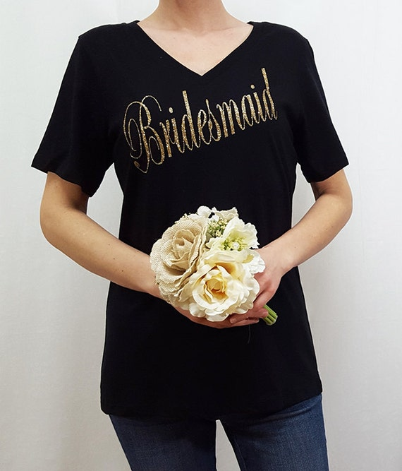 Bachelorette Party Bridal Shower Bridesmaid Shirt Custom