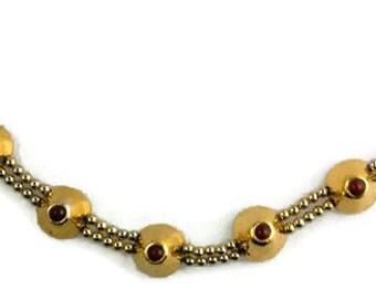 Vintage Metal Pointus Parisian Bracelet