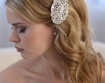 Bridal,Rhinestone Wedding Comb, Wedding Comb, Bridal Hair Comb, Wedding Accessory, Vintage Comb, Bride Hair Comb, Wedding Hair Comb ~TC-2252
