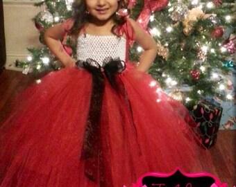 Christmas Tutu Dress/ Holiday dress/ Christmas dress