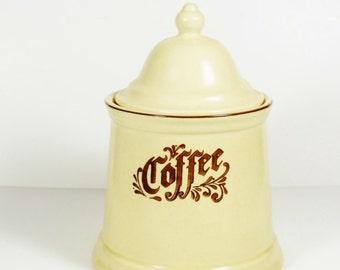 Pfaltzgraff Village Coffee Canister