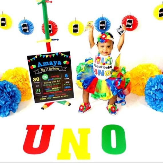 UNO Birthday Shirt WILD About Being UNO First Birthday