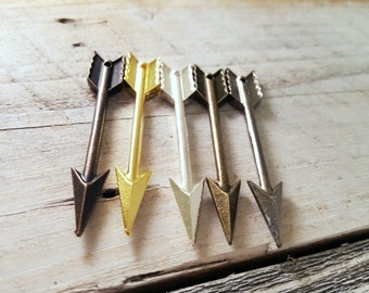 1PC Large Arrow Pendant - You Choose Color