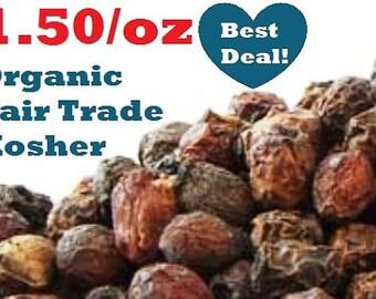 Organic HAWTHORN BERRIES -1oz- Crataegus monogyna & laevigata, fair trade, kosher, non-GMO