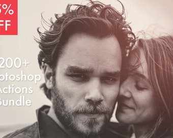 85% OFF! 200+ Photoshop Actions Photo Effects INSTANT DOWNLOAD