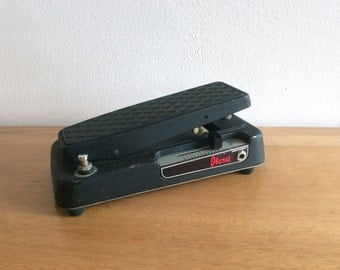 Vintage and rare Ibanez Double Sound fuzz wah pedal