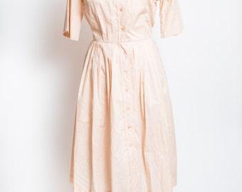 Sweet cream vintage dress