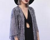 Lavender  Lace Kimono