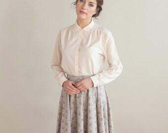 Rose high waisted skirt