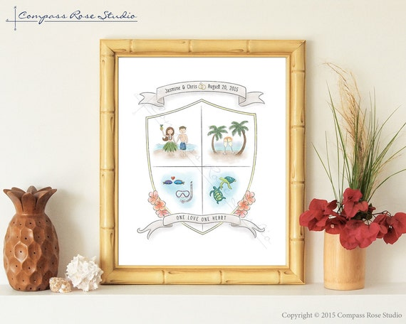 Hawaiian Wedding Gift Ideas