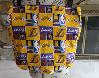 Lakers Cotton Tote Bag