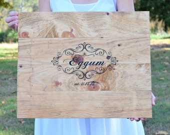 Please Sign Our Guest Book - Guest Book Alternative - Guest Book Wedding - Guest Book Wedding Ideas - Alternative Guest Book - Wood Book