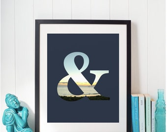 Ampersand - Wall Art & Decor, Graphic Design, Print