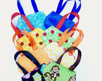 8 Doll Purses for 18 Inch Dolls, Party Favors, Gift Card Holders
