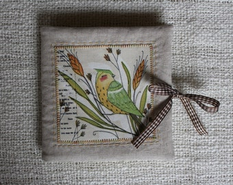 Needle book for sewing machine needles
