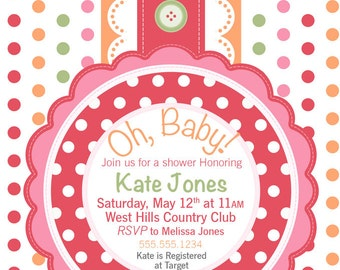 Oh Baby, Baby Shower Bundle #2