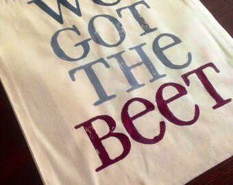 Canvas Tote - We Got The Beet