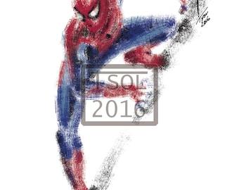 Spiderman Print
