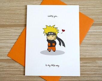 Ninja Way Love Card
