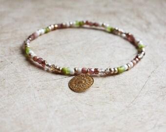 Boho Mandala Bracelet - Bohemian Jewellery