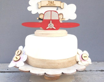 aircraft wedding cake airplane cake topper etsy 10633