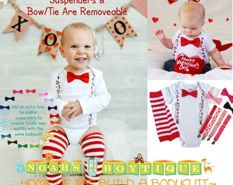 Valentines Outfits For Boys   Baby Boy   Valentines Day   Shirt   Clothes    Newborn