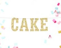 Cake Banner, Cake Table Decor, Birthday Cake Banner, Cake Table Sign, Wedding Cake Table, Rustic Wedding Reception Decor, Party Table Decor