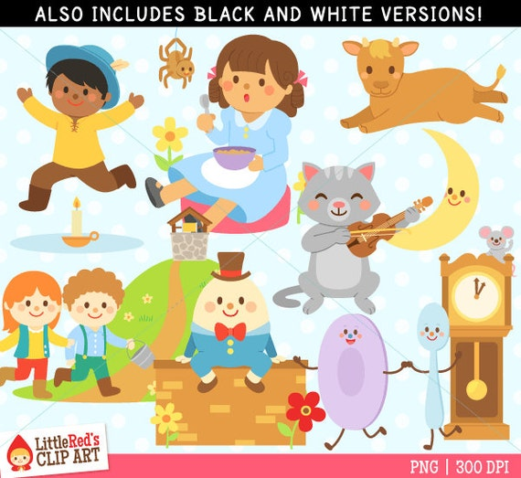 free clipart images nursery rhymes - photo #46