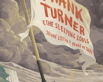 Frank Turner & The Sleeping Souls Fillmore Poster