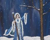Art Print Snow White Fore...