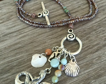 Mermaid's Delight Charm Necklace