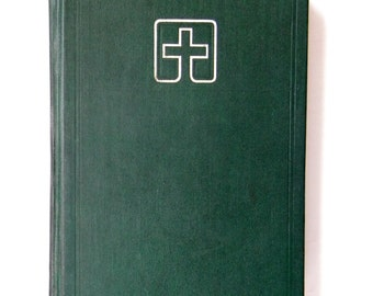 Hymnal 1978 vintage Lutheran Book of Worship