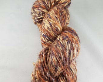 Merino Corriedale Silk handspun yarn