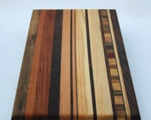 "12"" x 15"" Cutting Board w/ End Grain Inlay"