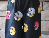 Mickey Mouse Pajama Pants Boys, Black, Yellow, Red Disney Print Lounge Bottoms. Birthday Party Gift. 12mo, 18mo, 2t, 3t, 4t, 5t, 6, 7, 8