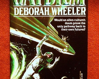 Jaydium by Deborah Wheeler 1993, DAW Collectors Edition 913 Vintage Science Fiction Adventure Paperback Book 1st Print